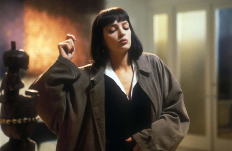 One famous Pulp Fiction scene was filmed backward