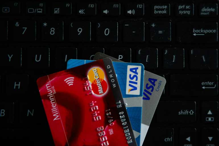 4. Check your credit card accounts