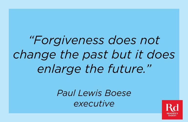 On forgiveness and its impact
