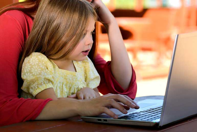 5. Spend time with your kids online