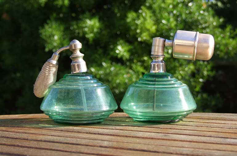 Don't wear heavy perfumes or scents