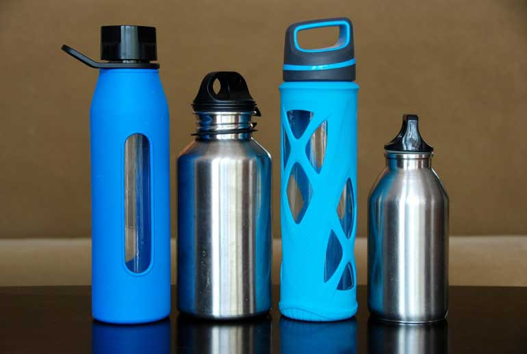 4. Use a reusable water bottle