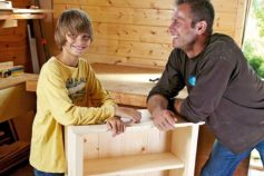 Build a Bookcase With Dad