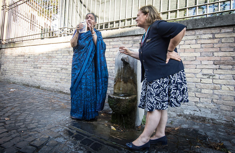 Don't put your mouth on the tap in Rome
