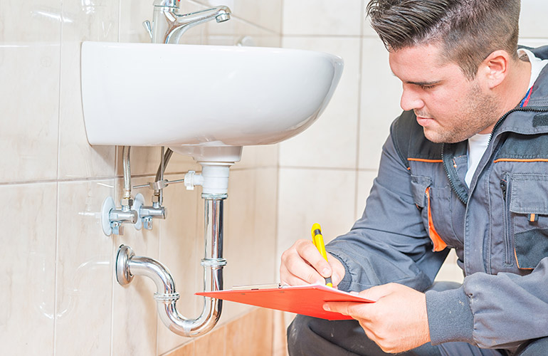 Have a plumber over before you buy