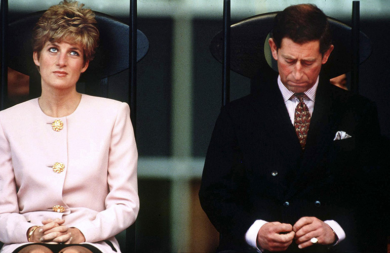 The airing of royal laundry by Charles and Diana