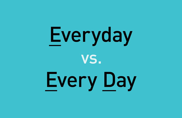 Everyday vs every day
