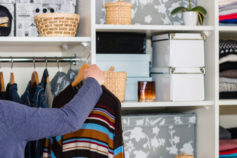 40 easy life hacks for organising your home