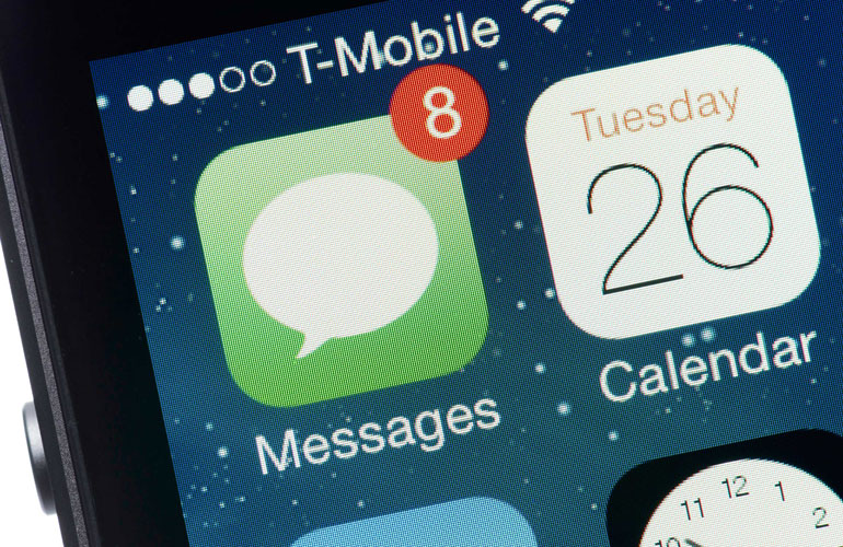 You text your phonebook, at once