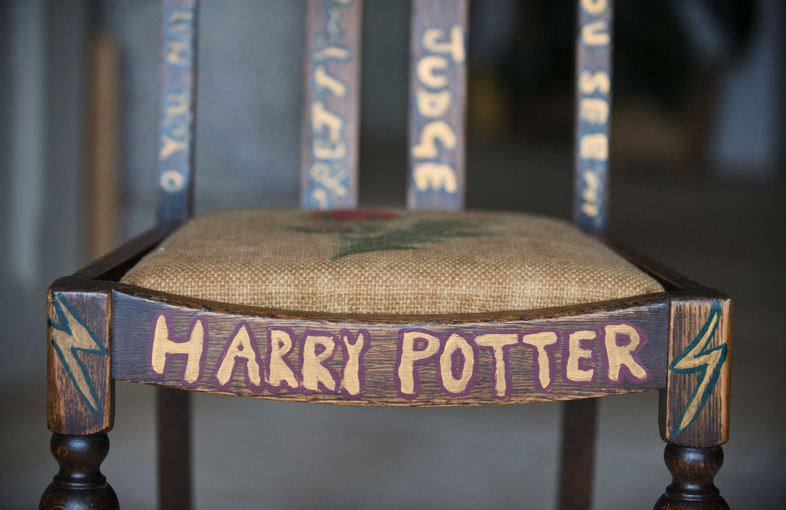 J.K. Rowling's chair