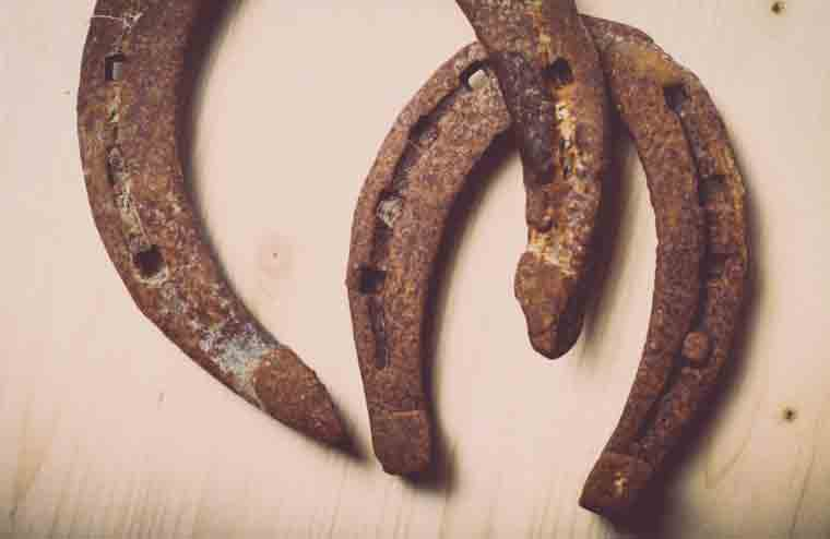 Horseshoes for good luck