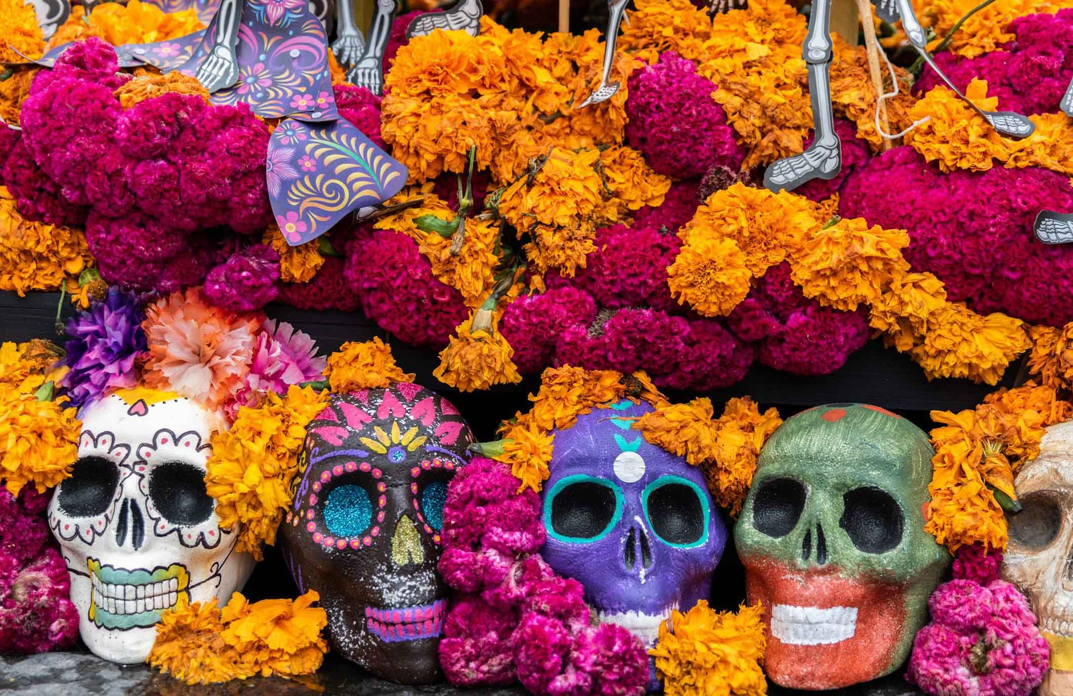 Day of the Dead is not Halloween
