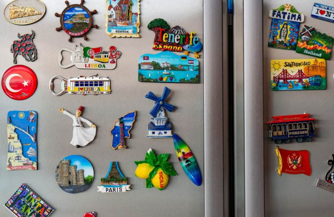 Your fridge looks like a collage