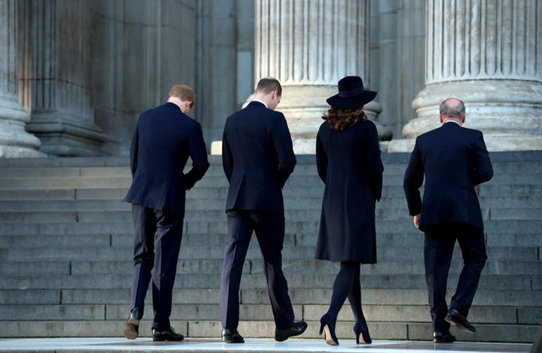 What we'll see the royals doing during national mourning