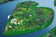Magical heart-shaped islands and lakes from around the world